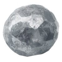 116/F/16  50mm RD. HOT FORGED FACETED SPHERE (CUSTOM ORDER)