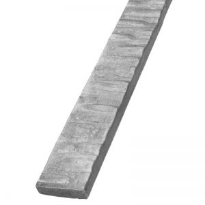 118/11  20 x 4mm HAMMERED FLAT BAR 3000mm (10 FT.) - 2 SIDES (DISCONTINUED)