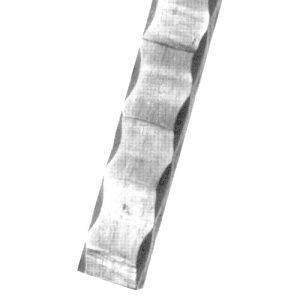 118/A/6  30 x 8mm HEAVILY HAMMERED FLAT BAR 3000mm (10 FT.)