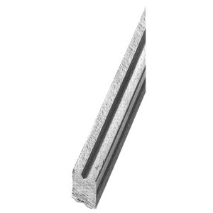1369/2  16 x 8mm GROOVED BAR 3000mm (10 FT.)