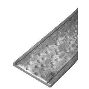 1370/3  100 x 8mm HAMMERED FLAT BAR 2000mm (6.5 FT.) - 1 SIDE