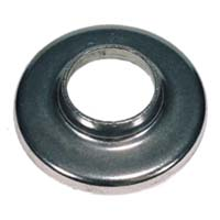 "1494T  2 1/2""RD. STAINLESS STEEL HEAVY BASE PLAIN FLANGE (CUSTOM ORDER)"