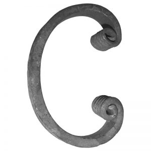 18/18  16 x 8mm FORGED C-SCROLL 80 x 125mm