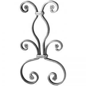 35/2  12 x 6mm FORGED SNAP-ON PANEL 200 x 345mm