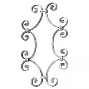 36/2  12 x 6mm FORGED SNAP-ON PANEL 230 x 380mm