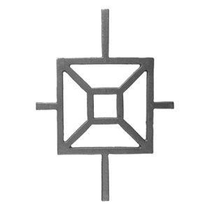 "38  CAST MODERN DESIGN INSERT 10 1/2""W x 15""H (CUSTOM ORDER)"