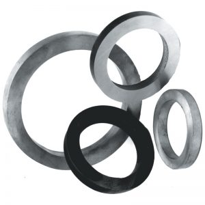 """4382  1/2""""SQ. FORGED RING 3""""DIA."""