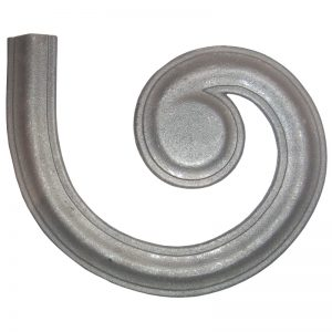 """4429GR  1 3/4"""" RIGHT MOLDING LATERAL SCROLL FOR MCR"""