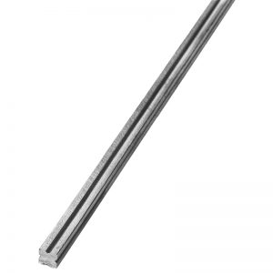 625/3  12mm SQ. GROOVED BAR 3000mm (10 FT.)