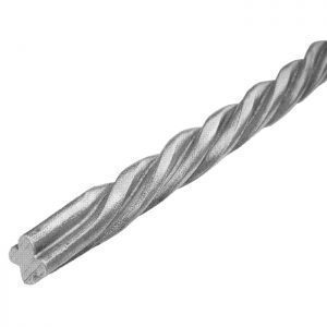 626/3  12mm RD. TWISTED PROFILE BAR 3000mm (10 FT.)