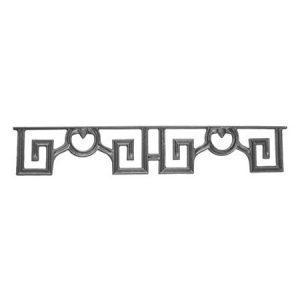 "631-F  (SBO) CAST MODERN DESIGN FRIEZE 22 3/4""W x 4""H"