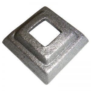 819/1  FORGED BASE PLATE 60 x 60mm WITH 30mm SQ. HOLE (DISCONTINUED)