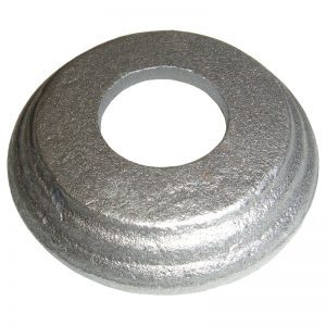 9/41  FORGED STEEL BASE 80 x 18mm WITH 30.5mm RD. HOLE