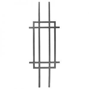 "9094  CAST MODERN DESIGN PANEL 10"" x 29 1/4"" (CUSTOM ORDER)"
