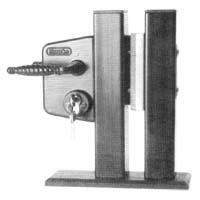 94/15  60-70-80mm LOCK SET - BLACK