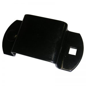 "BES05 1"" BACKING PLATE (BLACK) - 2"" POST"