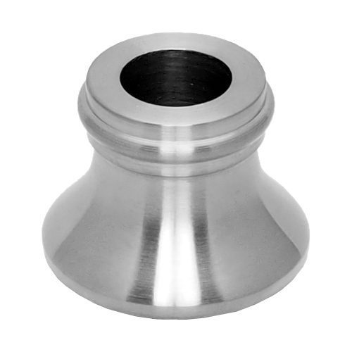 """E12SS 1/2""""RD. STAINLESS STEEL SHOE 1 1/4""""DIA. x 1""""H"""