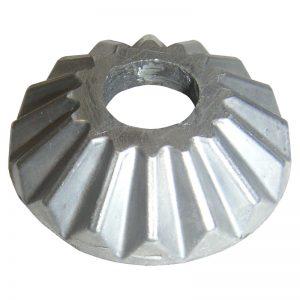 ELCR140/916   15.5mm RD. ALUMINUM BASE PLATE 48mm DIA. x 12mm H