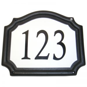 "ADDPE EMBASSY ADDRESS PLAQUE 11 1/2""W x 9 1/2""H (RECTANGULAR)"