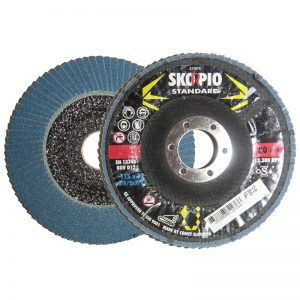 "FD412120 4 1/2"" x 7/8"" x 120 GRIT FLAP DISC DEPRESSED"