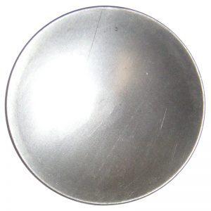 "J4429-214  2 1/4"" PLAIN CANDLE PLATE 12GA. (DISCONTINUED)"