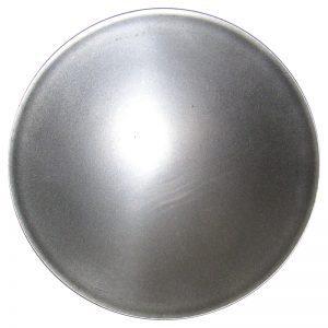 "J452512  5"" PLAIN CANDLE PLATE 18GA."