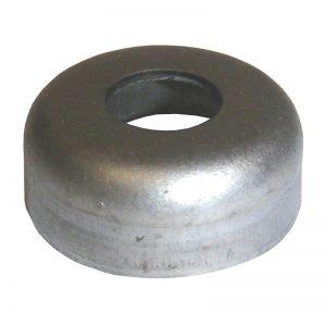 """MF114 METAL FOOT 1 1/4"""" PLASTIC CAP"""
