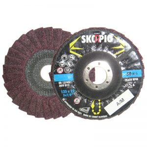 "POL412M 4 1/2"" x 7/8"" FINISHER DISC - MEDIUM"