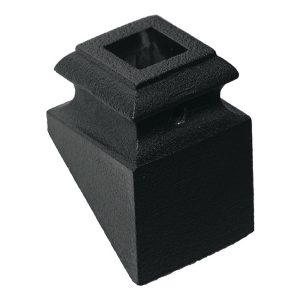 "PS8525TB 1/2""SQ. 8525 SHOE WITH SET SCREW 1 5/16""W x 1 15/16""H - TEXTURED BLACK"
