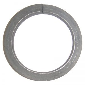 """4386  1/2""""SQ. FORGED RING 4""""DIA."""