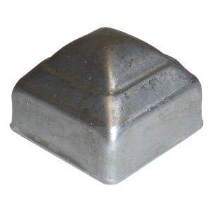 """SPC1  1""""SQ. PRESSED METAL CAP"""