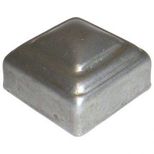 """SPC114  1 1/4""""SQ. PRESSED METAL CAP"""
