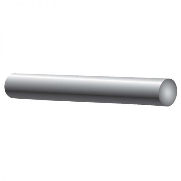 """SSROD38304 ROUND SOLID ROD 3/8"""" DIAMETER 19 FT. (SS304)"""