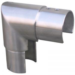 SSUTRND4244 ROUND CAP RAIL VERTICAL 90° ELBOW FOR 42.4 x 1.5mm HANDRAIL