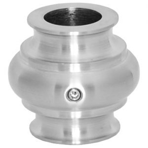 """683RSS58 5/8""""RD. STAINLESS STEEL COLLAR WITH SET SCREW 1 3/8""""DIA. x 1 5/16""""H"""