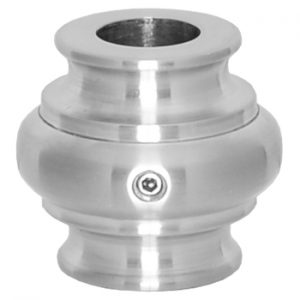 """683RSS916 9/16""""RD. STAINLESS STEEL COLLAR WITH SET SCREW 1 3/8""""DIA. x 1 5/16""""H"""