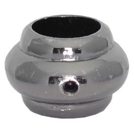 """EPC458BN 5/8""""RD. ELECTRO PLATED COLLAR WITH SET SCREW 1 3/16""""W x 13/16""""H - BRUSHED NICKEL"""