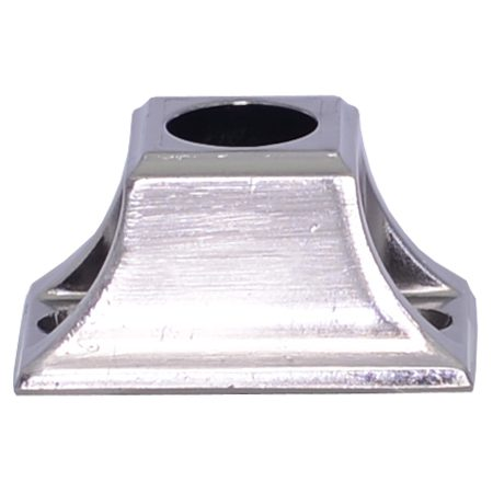 """EPEZFRD58BN  5/8""""RD. ELECTRO PLATED EZF SHOE 2""""L x 1 1/4""""W x 1""""H - BRUSHED NICKEL"""