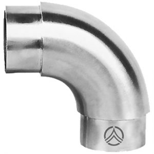 SSEB3020104S 90-DEGREE ELBOW (ROUND) FOR 42.4mm HANDRAIL 50mm