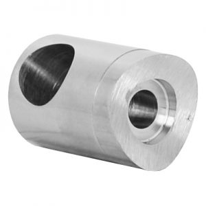 SSHD3130404S 22mm ROD HOLDER, BLIND RIGHT FOR 42.4mm POST WITH 12.7mm HOLE (DISCONTINUED)