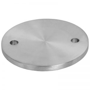 SSPW0581104S PLATE 58 x 5mm WITH 2 x 6.5mm MOUNTING HOLES