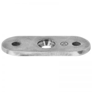 SSUA0010104S STRAIGHT HANDRAIL ATTACHMENT PLATE FOR FLAT HANDRAIL (SS304) (DISCONTINUED)