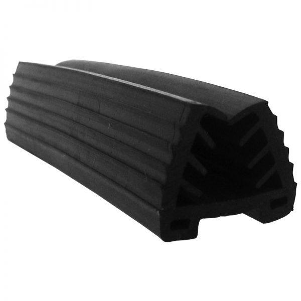 SSUTGASKET1 CAP RAIL GASKET FOR 8-11mm GLASS 24 x 24mm x 16 FT.
