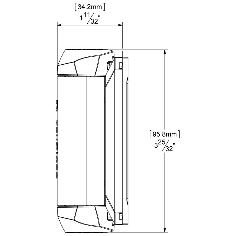 TCA1S3BT TruClose REGULAR ADJUSTABLE, SELF-CLOSING GATE HINGE