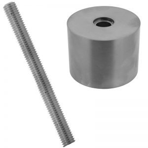 """ST112112F6S  SPACER 1 1/2"""" x 1 1/2"""" (FLAT) - SS316"""
