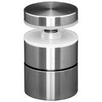 "SSASF112112 mlevel ADJUSTABLE ROUND STANDOFF FLAT CAP 1 1/2"" x 1 1/2"" (SS304)"