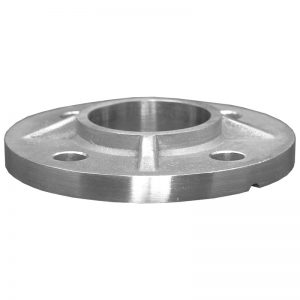 SSPW1071304N CAST BASE PLATE 100 x 10mm FOR 42.4mm POST (SS304)