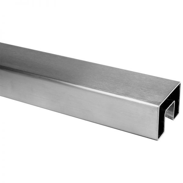 SSUTREC600 RECTANGULAR CAP RAIL 60 x 40mm x 16 FT. WITH 24 x 24mm INNER WIDTH & HEIGHT