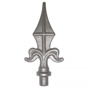 124/1  12mm RD. FORGED SPEAR 125mm H