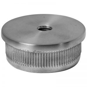 SSEP0022404S FLAT END CAP FOR 38.1mm HANDRAIL WITH M8 HOLE (SS304)